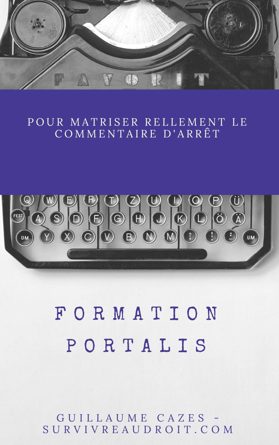 Formation portalis