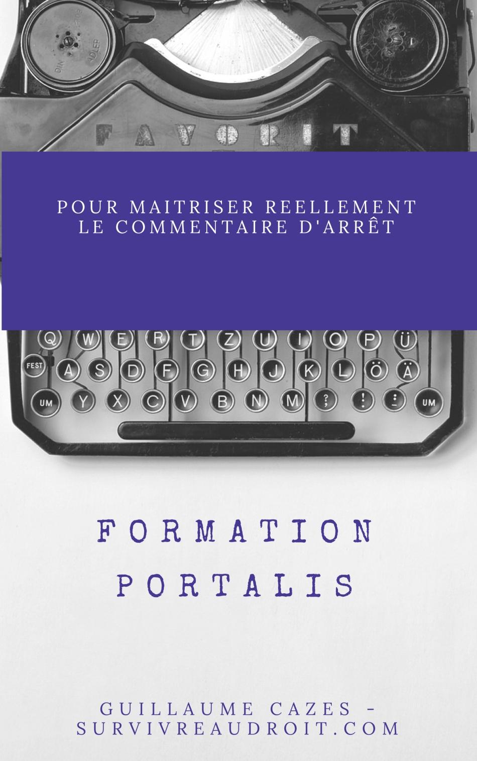 Formation portalis (2)